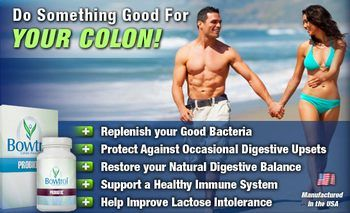 Bowtrol Probiotic Supplements Provide Healthy Digestive System and Intestinal Tract.