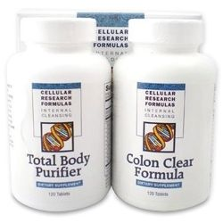 Dual Action Total Body Purifier and Colon Clear Formula.
