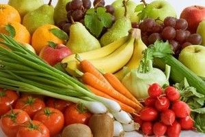 Super Colon Cleanse Diet - Raw Fruits and Vegetables.