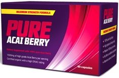 Pure Acai Berry For Weight Loss and Body Detox.