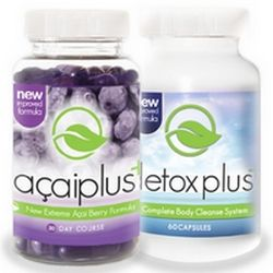 Acai Plus with DetoxPlus Weight Loss Combo Pack.