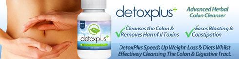 DetoxPlus Advanced Herbal Colon Cleanser.