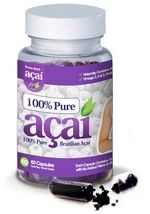 100% Pure Acai Berry Weight Loss Supplement.