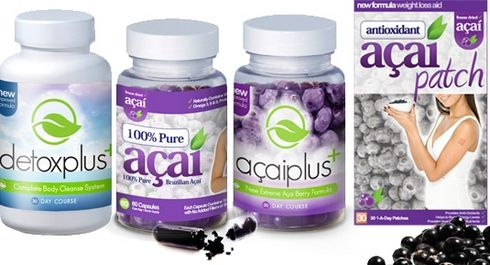 Detox Plus Colon Cleanse with Acai Berry Products.