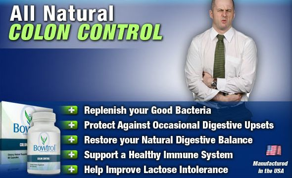 All Natural Colon Control by Bowtrol.