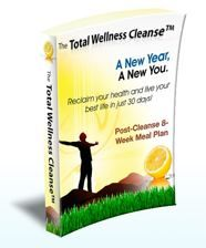 Total Wellness Cleanse book cover.