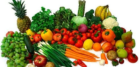 Diet with Fruits and Vegetables for Colon Cleansing and Body Detoxification.