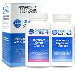 Restart Your Digestion with Intensive Colon Cleanse by Digestive Science.