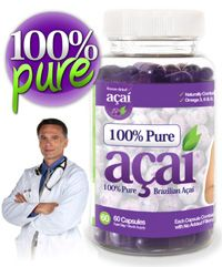 Doctor Recommended 100% Pure Acai Berry.
