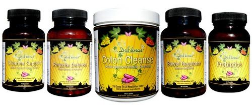 DrFloras Ultimate Kit Best Colon Cleanse Products.