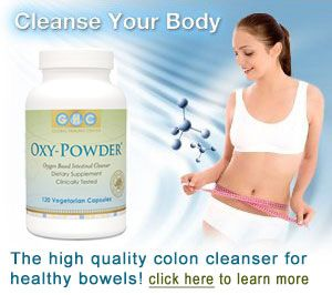 Oxy-Powder Oxygen Colon Cleanser