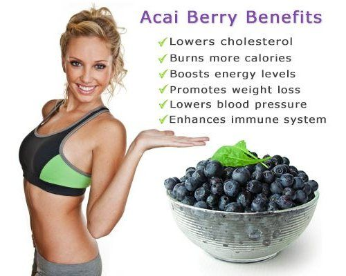 Pure Acai Berry Benefits
